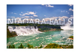 Niagara Falls - Panoramic View Posters by  Lantern Press