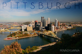 Pittsburgh, Pennsylvania - Autumn Scene Prints by  Lantern Press
