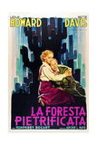 The Petrified Forest - (1) Vintage Movie Poster Poster by  Lantern Press