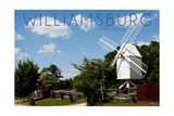 Williamsburg, Virginia - Windmill Prints by  Lantern Press