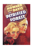 The Petrified Forest - (3) Vintage Movie Poster Print by  Lantern Press