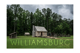 Williamsburg, Virginia - Cabin Posters by  Lantern Press