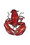 Lobster - Icon Posters by  Lantern Press