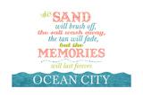 Ocean City, Maryland - Beach Memories Last Forever Posters by  Lantern Press