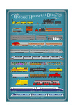 Huntsville, Alabama - Railways of History Infographic Prints by  Lantern Press