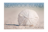 Seabrook Island, South Carolina - Sand Dollar and Beach Prints by  Lantern Press