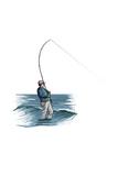 Sea Fisherman - Icon Prints by  Lantern Press