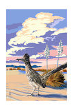 Roadrunner Scene Prints by  Lantern Press