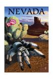 Nevada - Blond Tarantula Posters by  Lantern Press