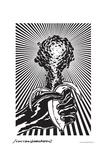 Atomic Banana - John Van Hamersveld Poster Artwork Poster di  Lantern Press