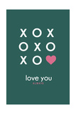 XoXo Design Posters by  Lantern Press