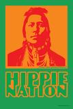 Hippie Nation - John Van Hamersveld Poster Artwork Prints by  Lantern Press