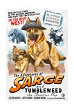 German Shepherd - Adventures of Sarge and Tumbleweed Prints by  Lantern Press