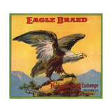 Eagle Brand - Highgrove, California - Citrus Crate Label Premium Giclee Print by  Lantern Press