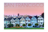 San Francisco, California - Pink Ladies Posters by  Lantern Press