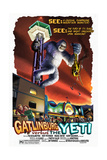 Gatlinburg, Tennessee - Gatlinburg Versus the Yeti Prints by  Lantern Press