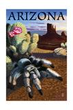 Arizona - Blond Tarantula Kunst af  Lantern Press