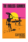 Cayucos, California - the Endless Summer - Original Movie Poster Posters by  Lantern Press