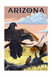 Arizona - Vultures Posters by  Lantern Press