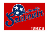 Visited Tennessee - Authentic Souvenir Prints by  Lantern Press
