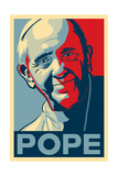 Pope - Lithography Style Lámina giclée premium por  Lantern Press