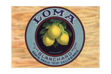 Loma Brand - Santa Paula, California - Citrus Crate Label Posters by  Lantern Press