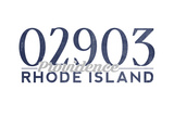 Providence, Rhode Island - 02903 Zip Code (Blue) Posters by  Lantern Press