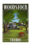 Woodstock, Virginia - Apple Harvest Posters by  Lantern Press