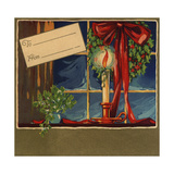 Christmas Candle - Citrus Crate Label Posters by  Lantern Press