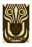 Zoo Faces - Zebra Prints by  Lantern Press