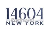 Rochester, New York - 14604 Zip Code (Blue) Prints by  Lantern Press