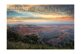 Grand Canyon National Park, Arizona - Hazy Canyon View Posters by  Lantern Press
