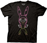 Bobs Burgers- Neon Louise T-Shirts