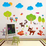 Field of Friends Wall Decal