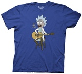 Rick And Morty- Tiny Rick Song Shirt
