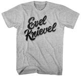 Evel Knievel- Script Logo Shirts