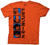 Dragon Z- Serious Heroes T-shirts