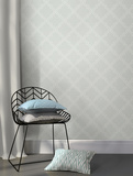 Grey Quatrefoil Peel & Stick Wallpaper Decalques de parede
