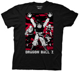Dragon Z- Red Battlefield T-Shirt