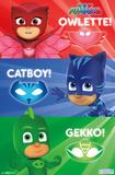 PJ Masks - Heroic Trio Posters