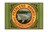 Peerless Brand - Chula Vista, California - Citrus Crate Label Posters by  Lantern Press