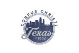 Corpus Christi, Texas - Skyline Seal (Blue) Posters by  Lantern Press