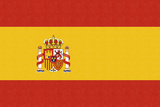 Spain Country Flag - Letterpress Prints by  Lantern Press