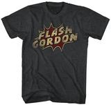 Flash Gordon- Bang Logo T-skjorter