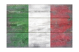 Italy Country Flag - Barnwood Painting Posters by  Lantern Press
