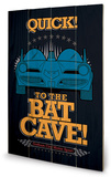 Batman - To The Bat Cave Treskilt