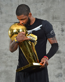 2016 NBA Finals - Post Game Trophy Shoot Photo by Jesse D Garrabrant