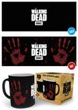 The Walking Dead - Handprint Heat Change Mug Mok