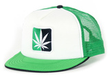The Leaf Mesh Snapback Hat
