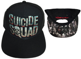 Suicide Squad- Movie Logo Snapback Hat
